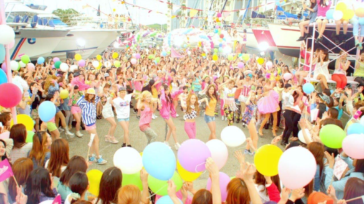 世界で活躍,ガールズユニット 少女時代 Girls' Generation人気曲ランキング