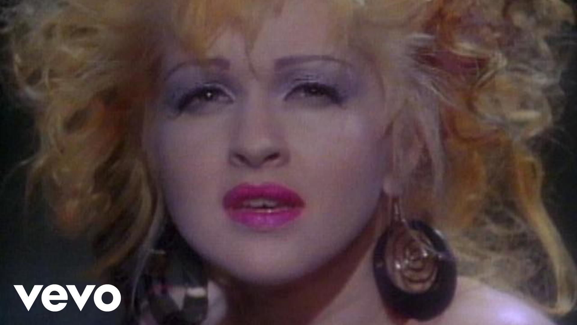 Cyndi Lauper シンディ・ローパー 人気曲ランキング