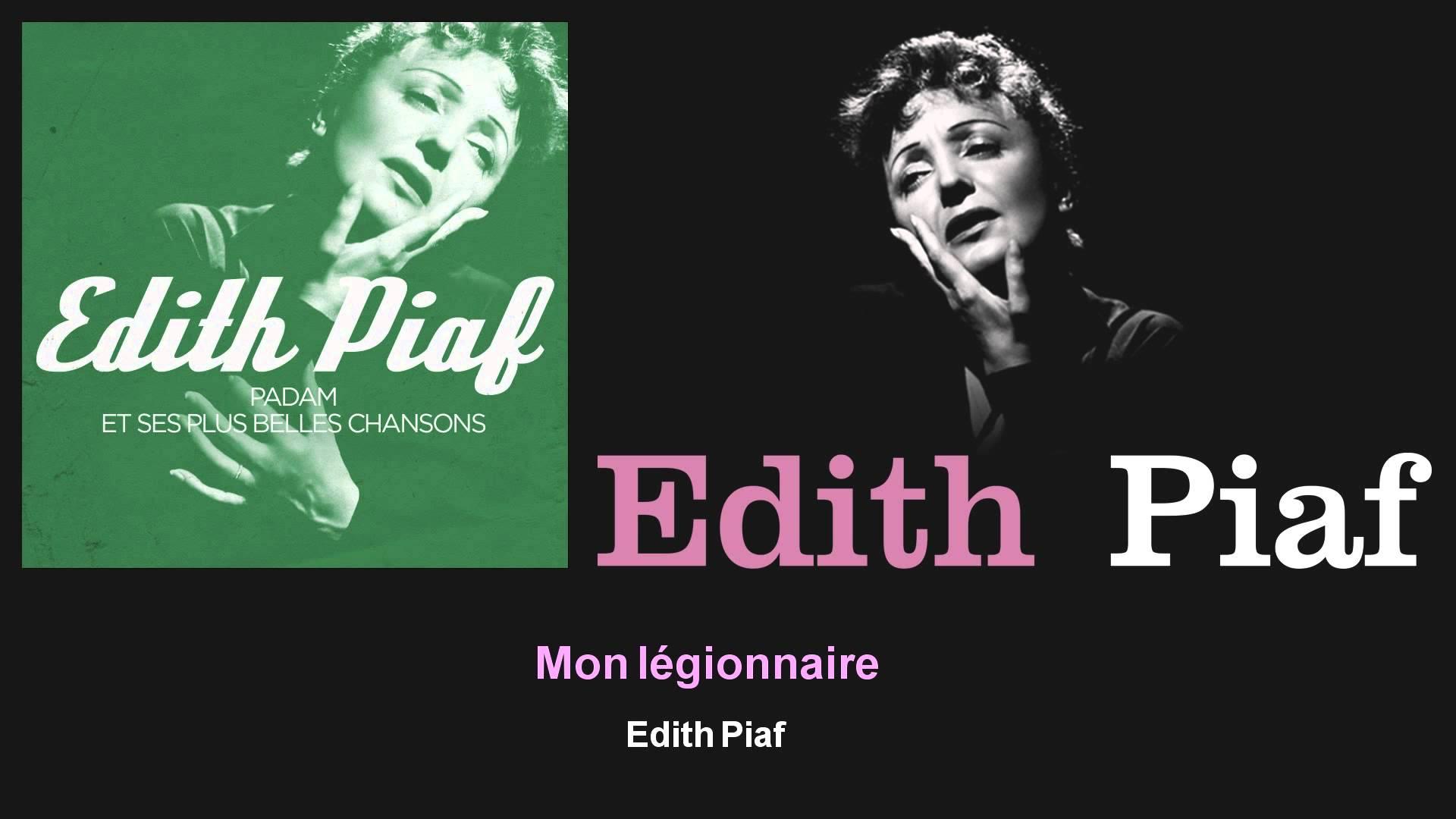 Edith Piaf エディット・ピアフ 人気曲ランキング